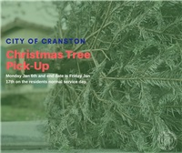 Christmas Tree Pick-Up 1/6-1/17