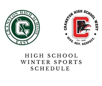 Cranston Winter Sports Schedule