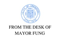 FROM THE DESK OF MAYOR FUNG