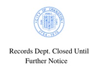 Records department is closed to the public, if you need any records please call 401-780-3194 to set up an appointment.