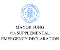 6th SUPPLEMENTAL EMERGENCY ORDER RESTRICTING SPENDING