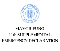 MAYOR FUNG 11th SUPPLEMENTAL EMERGENCY DECLARATION REOPENING CERTAIN CITY RECREATION FACILTIES AND REOPENING IN PART CERTAIN CITY DEPARTMENTS
