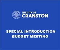 SPECIAL INTRODUCTION BUDGET MEETING 5PM