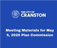 Meeting Materials for May 5, 2020 Plan Commission