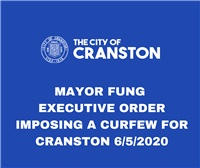 MAYOR FUNG EXECUTIVE ORDER IMPOSING A CURFEW  FOR 6/5/2020