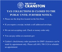 Tax Collections Announcement
